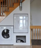Contemporary Micro Apartment Organized With Boxes 11