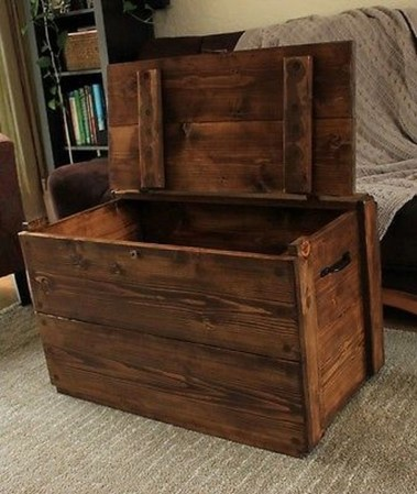 Ideas To Decorate Your House With Vintage Chests And Trunks 07
