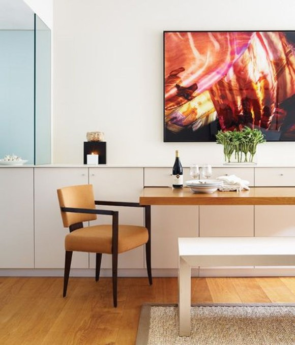 Inspirations To Choosing The Right Tables For Cramped Room 10