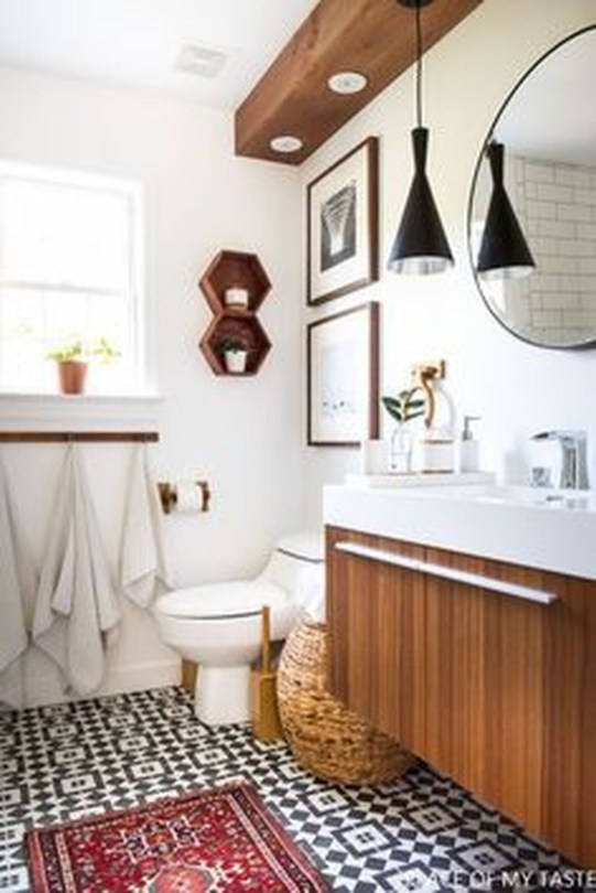 Inspiring Bathrooms With Stunning Details 41