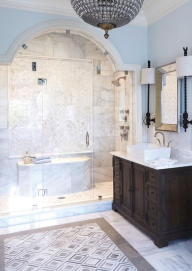 Inspiring Bathrooms With Stunning Details 51
