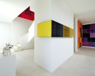 Minimalist Micro Apartment With A Hint Of Color 08