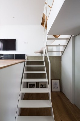 Minimalist Micro Apartment With A Hint Of Color 13
