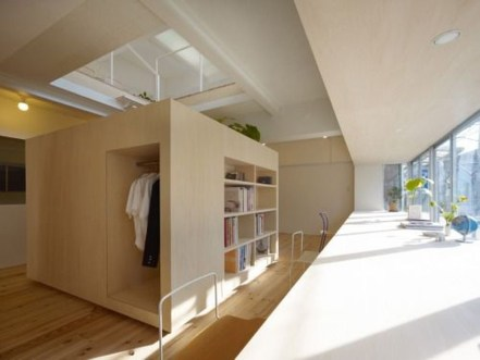 Minimalist Micro Apartment With A Hint Of Color 37