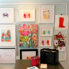 Smart Ways To Organize Your Home With Pegboards 02