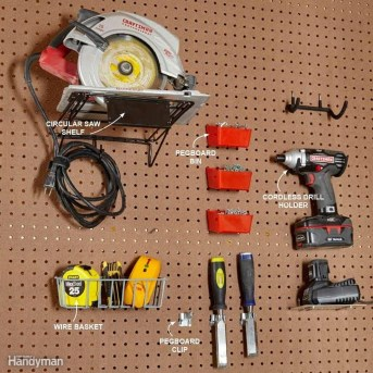 Smart Ways To Organize Your Home With Pegboards 25
