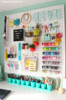 Smart Ways To Organize Your Home With Pegboards 31