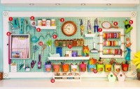 Smart Ways To Organize Your Home With Pegboards 40