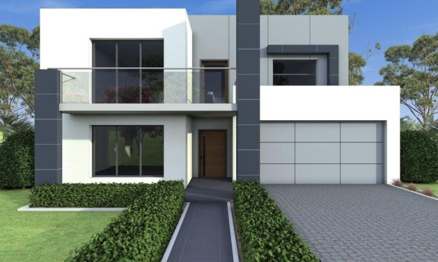 Spectacular Designs Of Minimalist Two Storey House 59