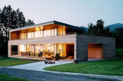 A Wooden House That's Simple On The Outside But Modern On The Inside 43