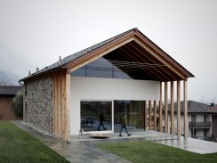 A Wooden House That's Simple On The Outside But Modern On The Inside 48