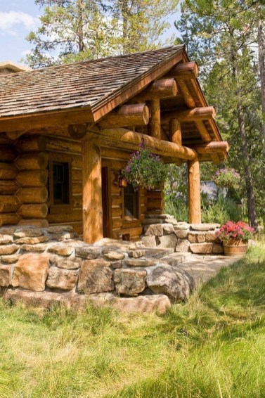 Affordable Wooden Houses For Small Families 36
