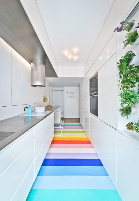 Apartment With Colorful Interior Design 55