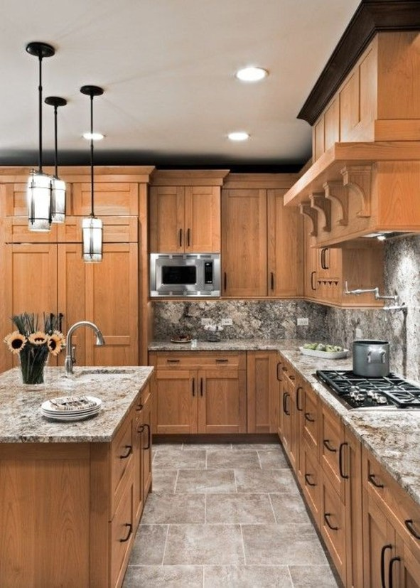 Beautiful Kitchen Designs With A Touch Of Wood 39