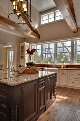 Beautiful Kitchen Designs With A Touch Of Wood 42