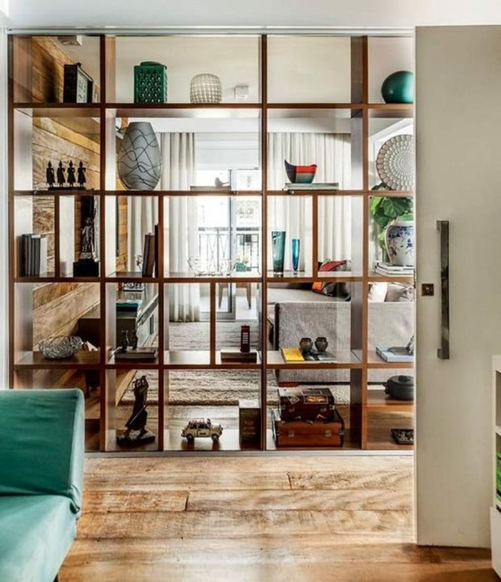 Beautiful Open Kitchens With Unique Partitions And Room Dividers 07