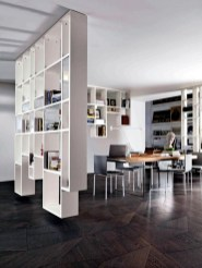 Beautiful Open Kitchens With Unique Partitions And Room Dividers 18