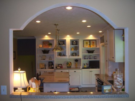 Beautiful Open Kitchens With Unique Partitions And Room Dividers 26