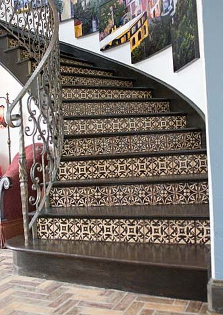 Beautiful Tiled Stairs Designs For Your House 04