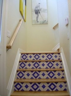 Beautiful Tiled Stairs Designs For Your House 19