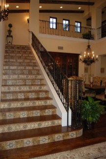 Beautiful Tiled Stairs Designs For Your House 21