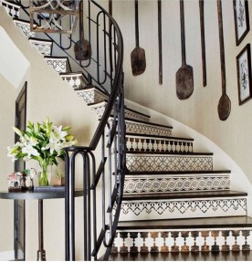 Beautiful Tiled Stairs Designs For Your House 27
