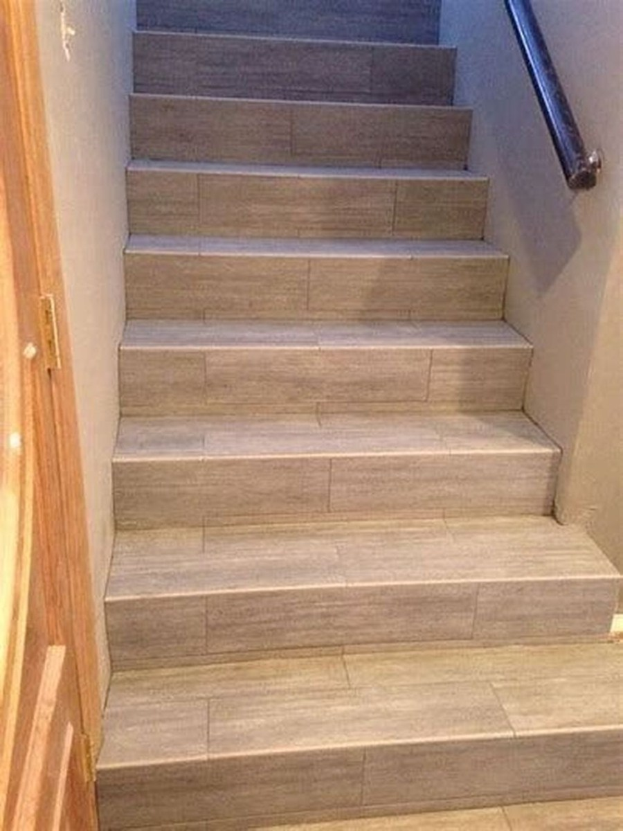 Beautiful Tiled Stairs Designs For Your House 41
