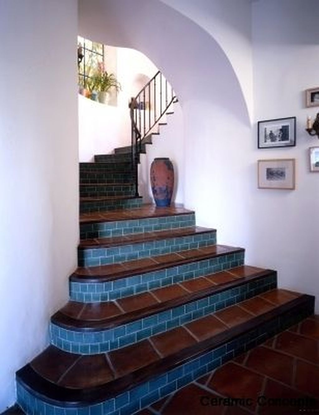 Beautiful Tiled Stairs Designs For Your House 46