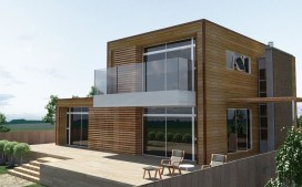 Charming And Minimalist Wooden House 05