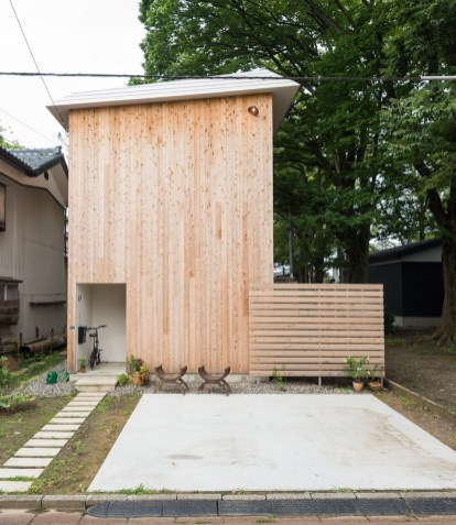 Charming And Minimalist Wooden House 11