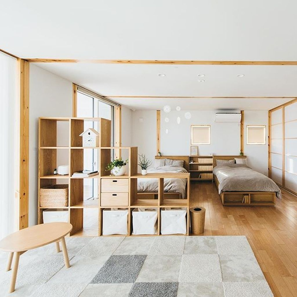 Charming And Minimalist Wooden House 20