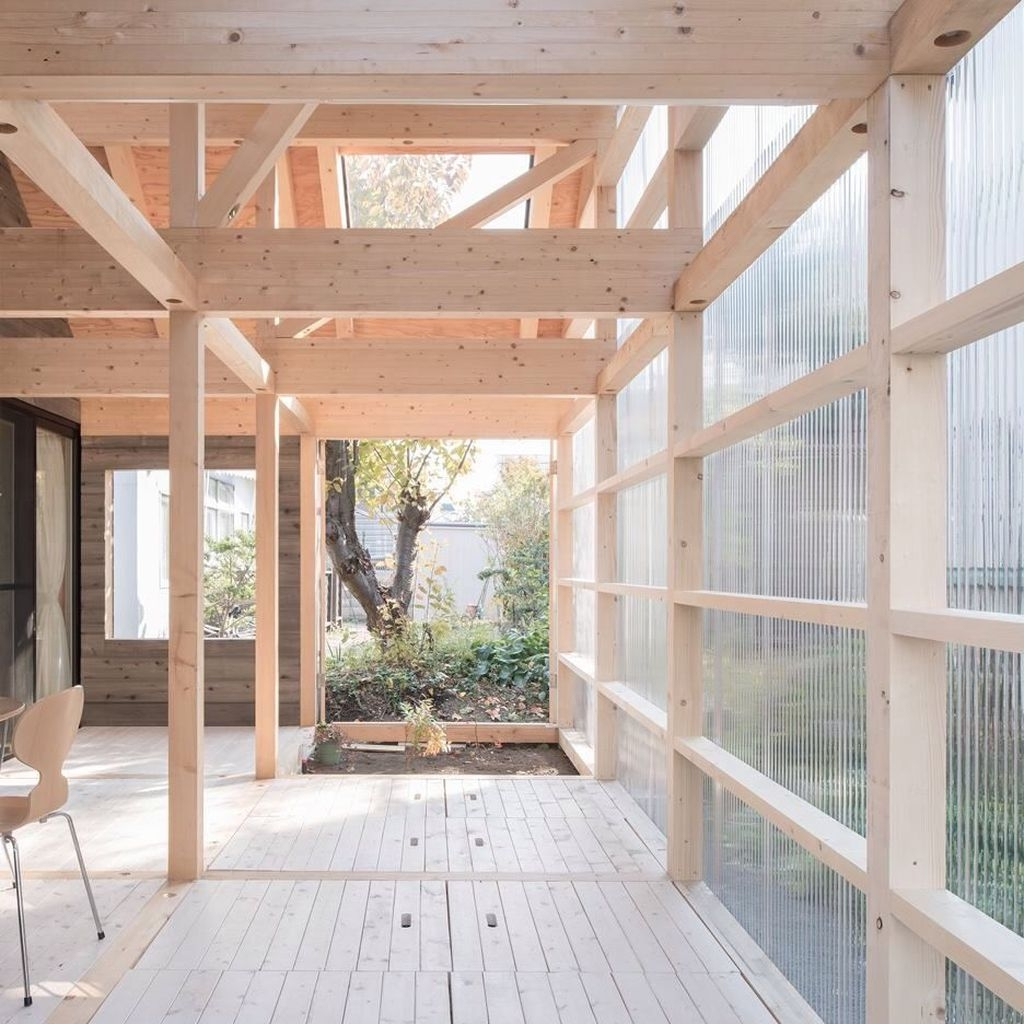 Charming And Minimalist Wooden House 22
