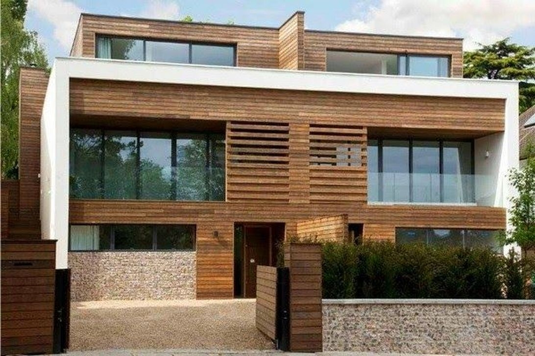 Charming And Minimalist Wooden House 43