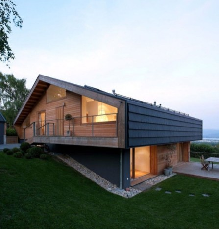 Charming And Minimalist Wooden House 44