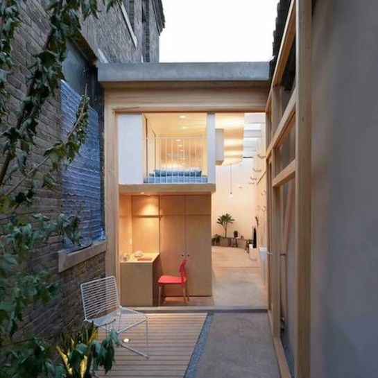 Functional Japanese House For Small Family 19
