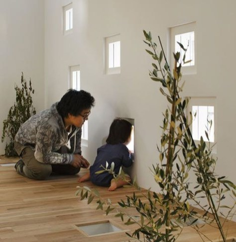 Functional Japanese House For Small Family 51