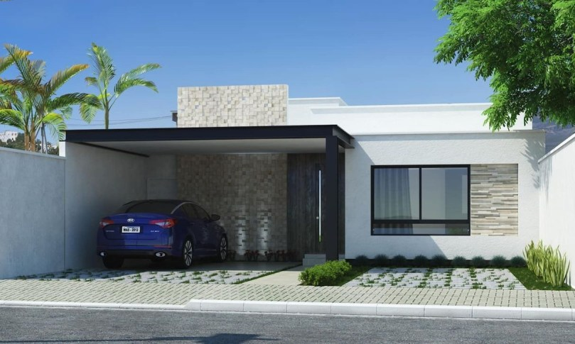 Inspirations For Minimalist Carport Design 37