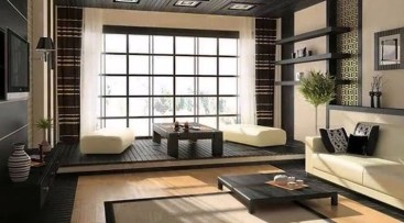 Japanese Inspired Living Rooms With Minimalist Charm 02
