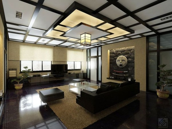 Japanese Inspired Living Rooms With Minimalist Charm 15