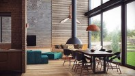 Minimalist Industrial Apartment 18