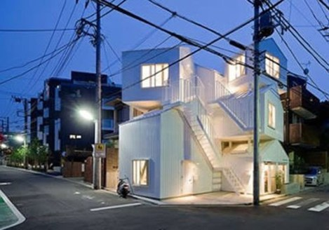 This Japanese House Looks Peculiar But Beautiful 11