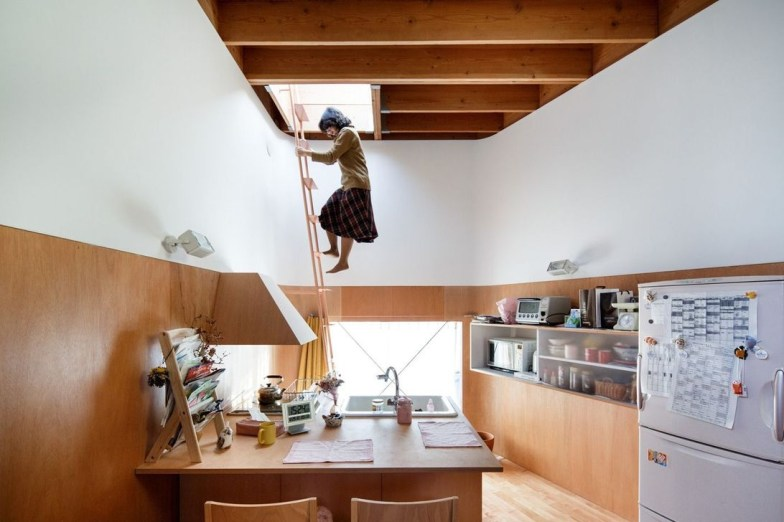 This Japanese House Looks Peculiar But Beautiful 13