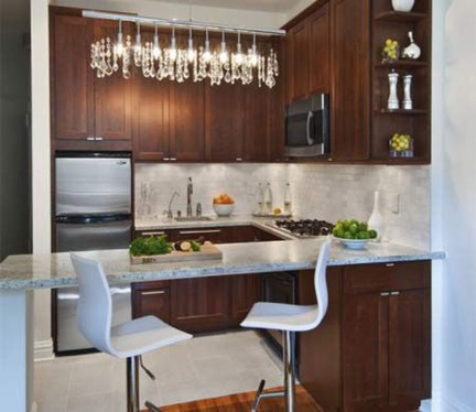 Wonderful Small Kitchen Transformations 15