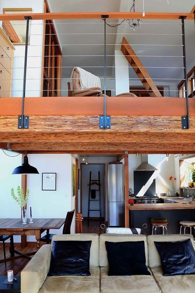 Wood Railing Ideas For Your House Style 23