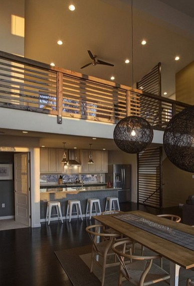 Wood Railing Ideas For Your House Style 36