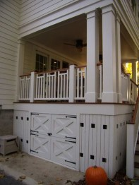 Wood Railing Ideas For Your House Style 38