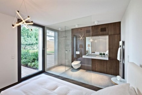 Amazing Bedroom Designs With Bathroom 23