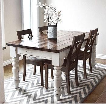 Amazing Farmhouse Kitchen Tables Ideas 16
