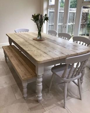 Amazing Farmhouse Kitchen Tables Ideas 33