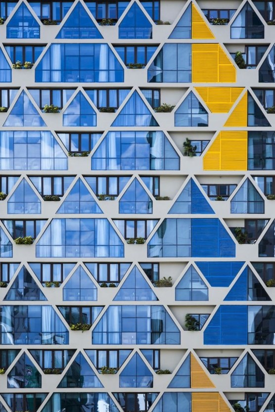 Best Facade Designs Of 2018 With Different Materials 42